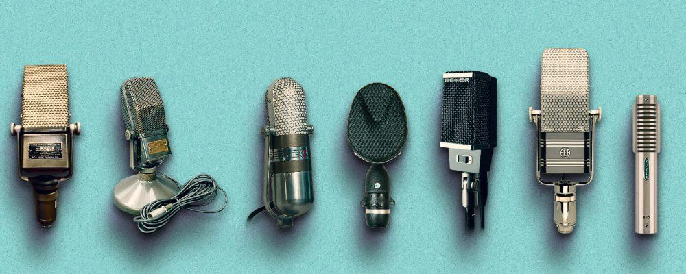 RCA PB31, 44-A and 77-D, Coles 4038, BeyerDynamic M360, AEA R44BX, Royer R121.