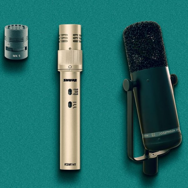 Schoeps' MK5 capsule, Shure's KSM141 and Josephson's C715 use mechanical shutters to change between cardioid and omnidirectional polar responses.