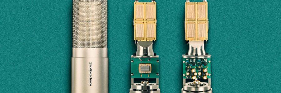 AudioTechnica's 5047 features four rectangular diaphragms and a transformer output circuit.