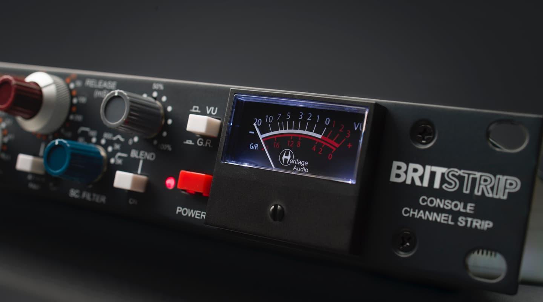 Britstrip Channel Strip With Successor-Like Compressor